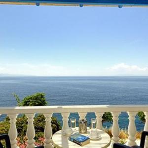 Huize Marisini Sea View op Andros, 24 dagen