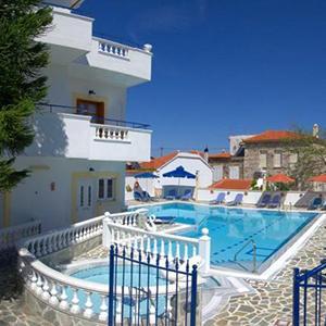 Huize Zafiria op Samos, 8 dagen