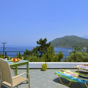 Villa's Elia en Pefkos op Samos, 22 dagen
