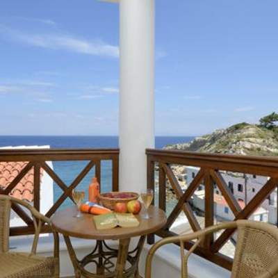 Huize Achinos op Samos, 22 dagen