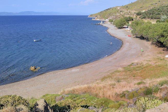 warmwaterbronnen op lesbos, griekenland