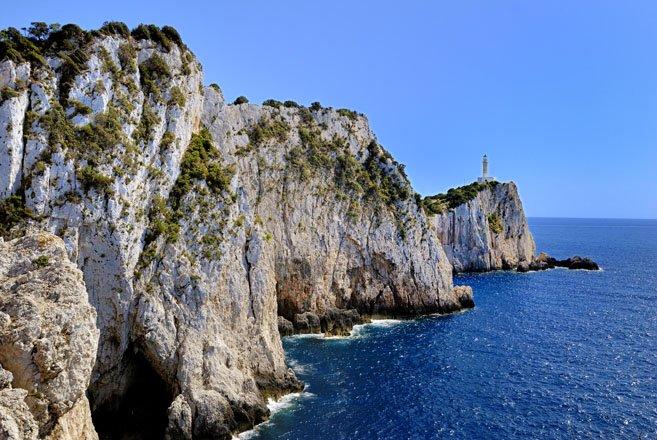 sappho, de mythe op lefkas, griekenland