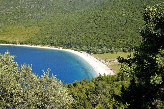 captian corelli's mandolin op kefalonia, griekenland