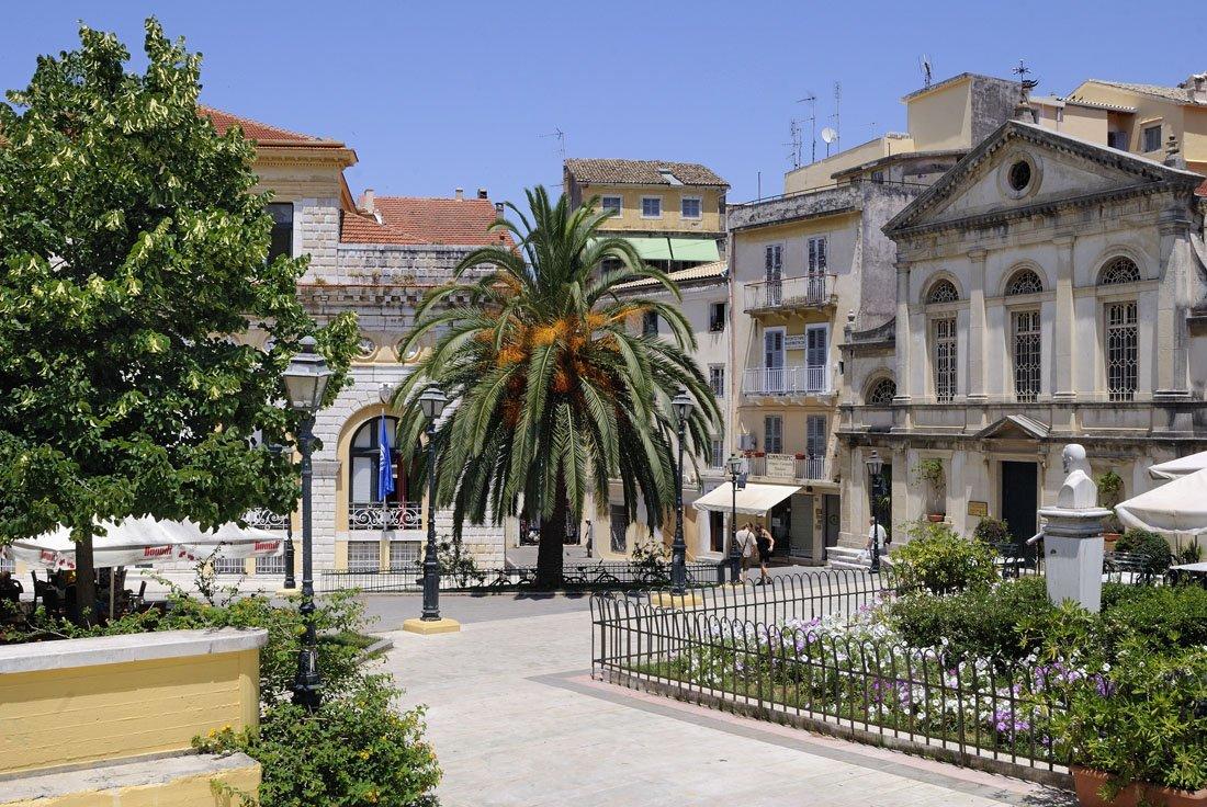 vakantie griekenland, bestemming corfu
