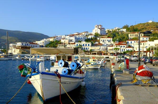 vakantie griekenland, bestemming andros