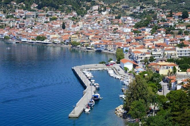 vakantie griekenland, bestemming evia