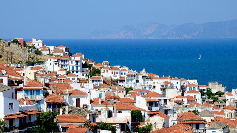 Bezienswaardigheden op Skopelos