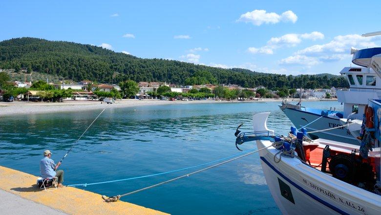 Dorpen op Evia