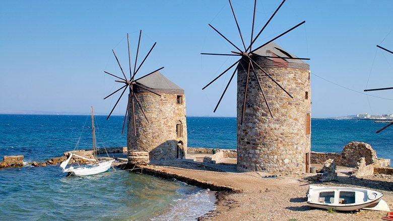 Excursies op Chios