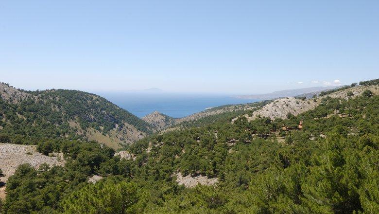 Wandelen op Chios
