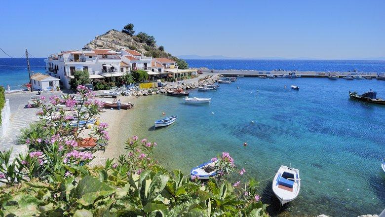 De dorpen van Samos
