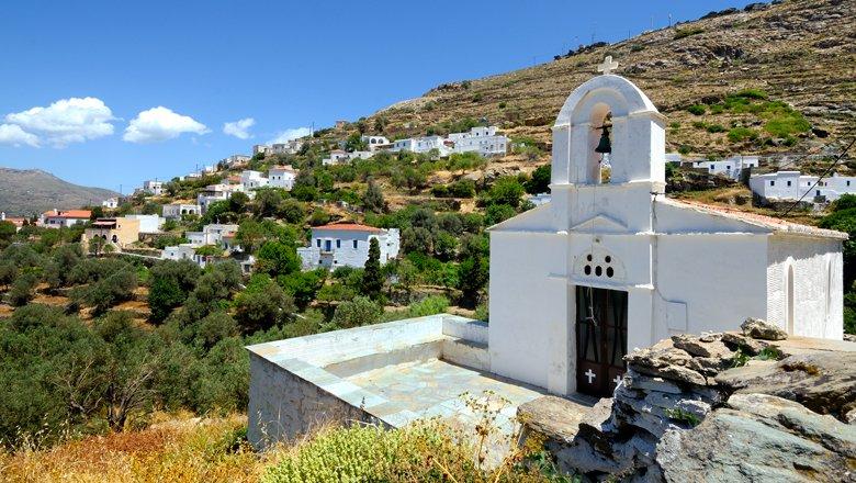 Excursies op Andros