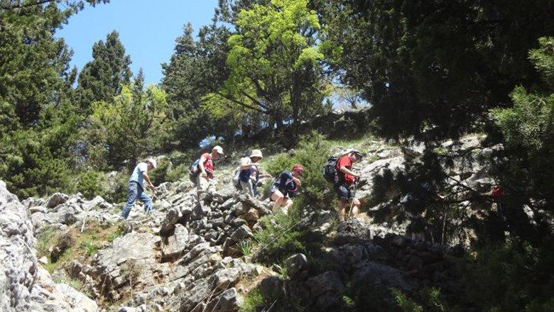 Wandelen op West-Kreta