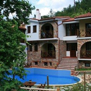 Huize Mikro Kazaviti op Thassos, 8 dagen