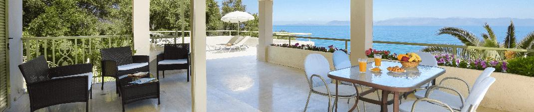 Huize Athina op Corfu virtuele tour
