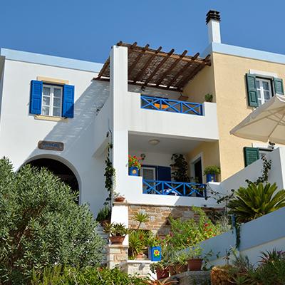 Huize Anemona op Syros, 24 dagen