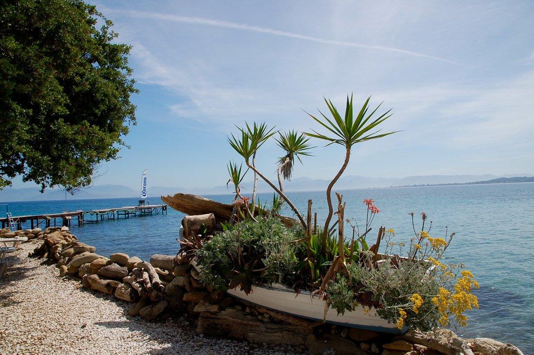 foto van gasten vakantie corfu