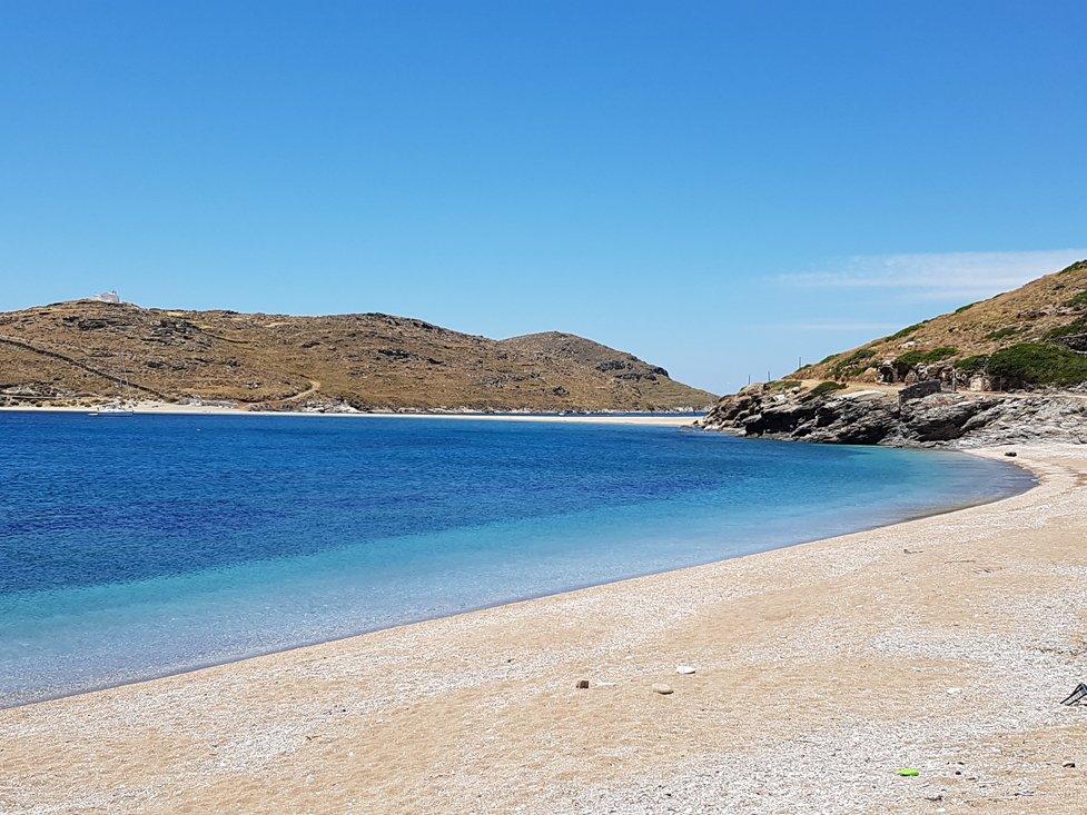 Kolona Beach op Kythnos
