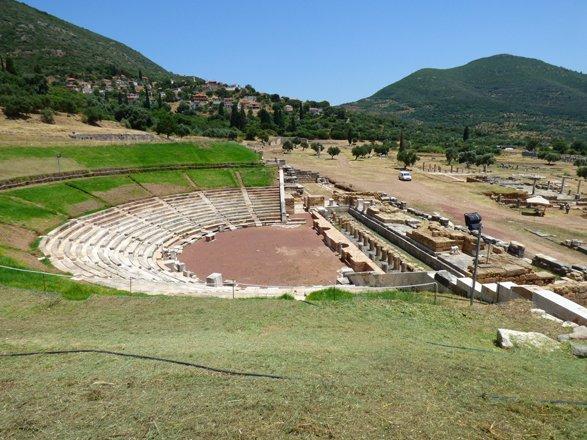 Opgravingen in Messini