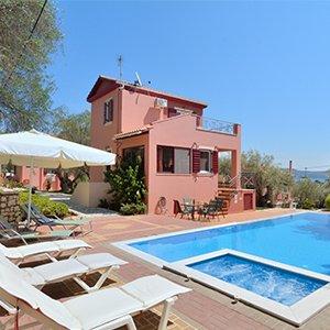 Villa Siroco op Lefkas, 8 dagen