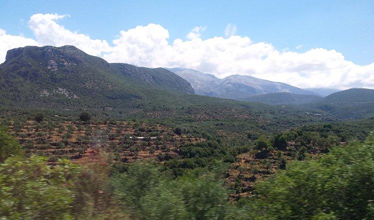 Fietsen op de Peloponnesos
