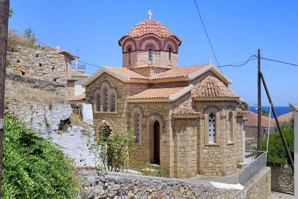 Koroni op de Peloponnesos
