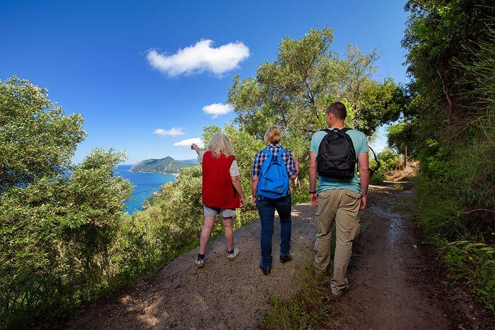 Corfu Trail op Corfu