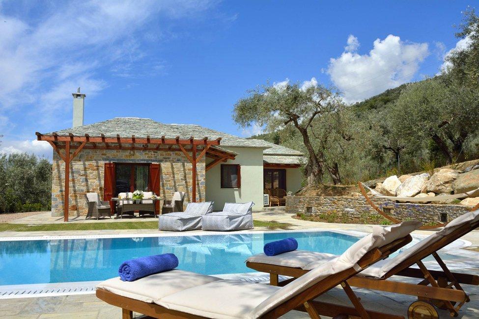 Villa Elea in Kala Nera in Pilion