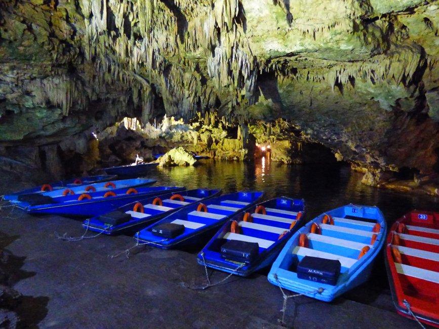 Diros grotten op de Peloponnesos