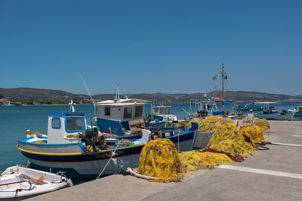 De plaats Ireon op Samos