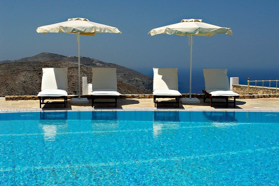 Boutique hotel Aria op Folegandros