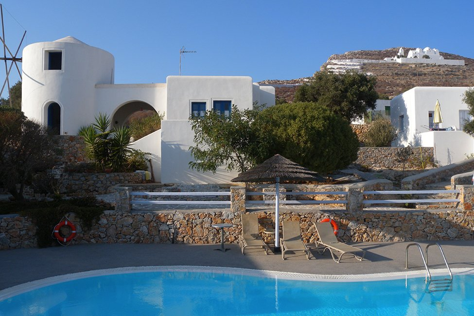 Charaki Traditional Houses op Folegandros