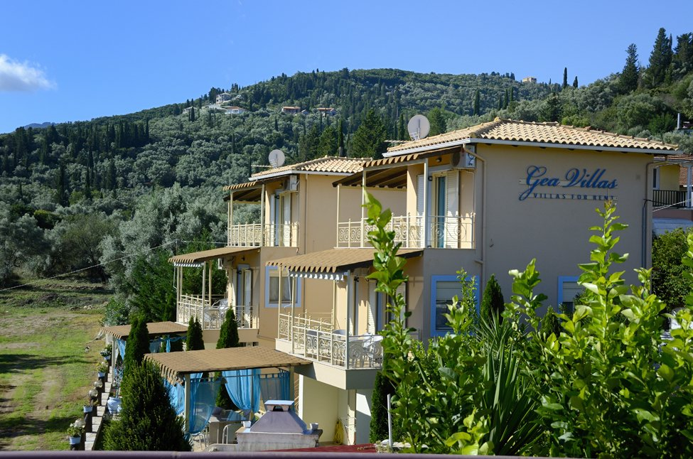 Gea appartementen in Lefkas