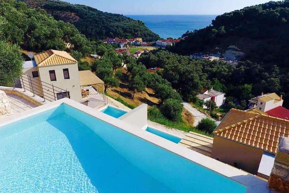 Asaya Hills Villa's in Epiros