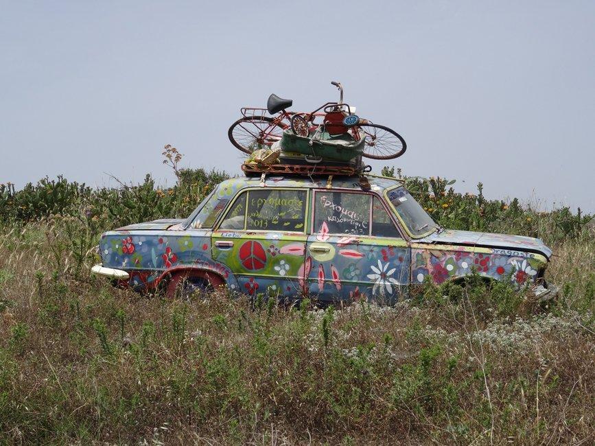 Autos op Limnos