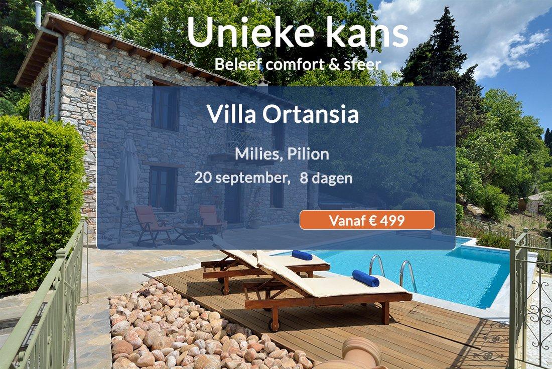 Villa aanbieding