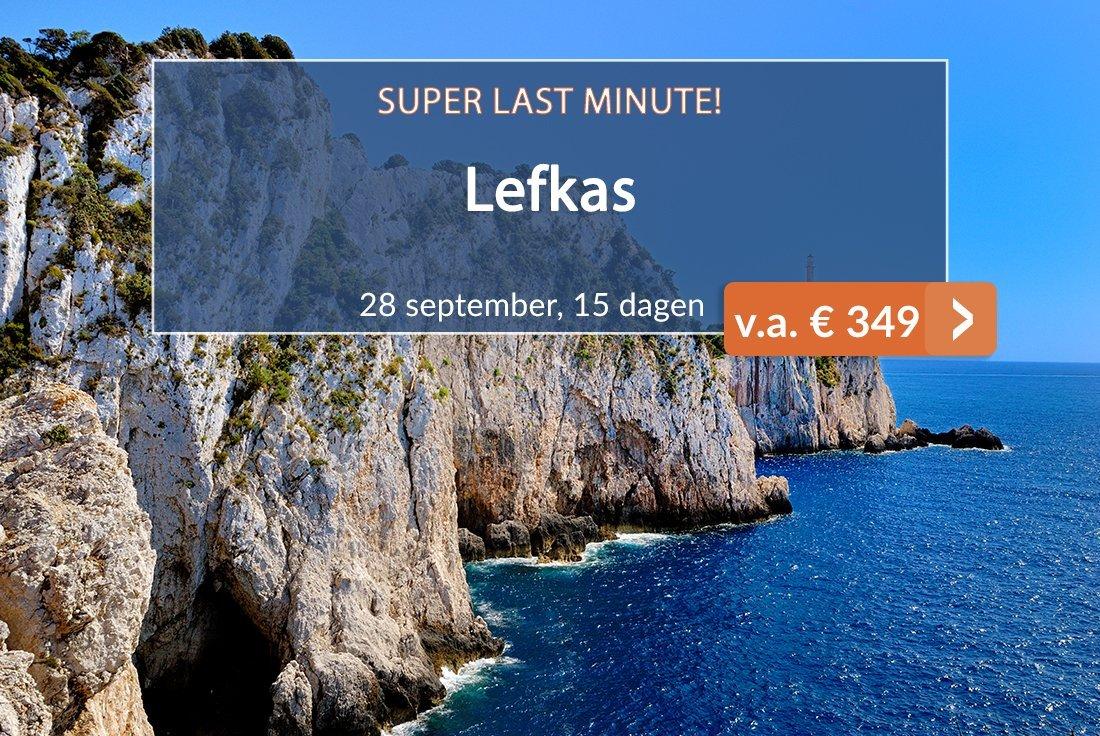 Lefkas Super Last-minute aanbieding