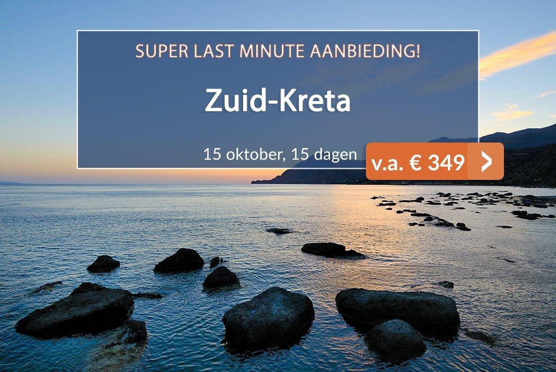 Zuid-Kreta Super Last-minute aanbieding