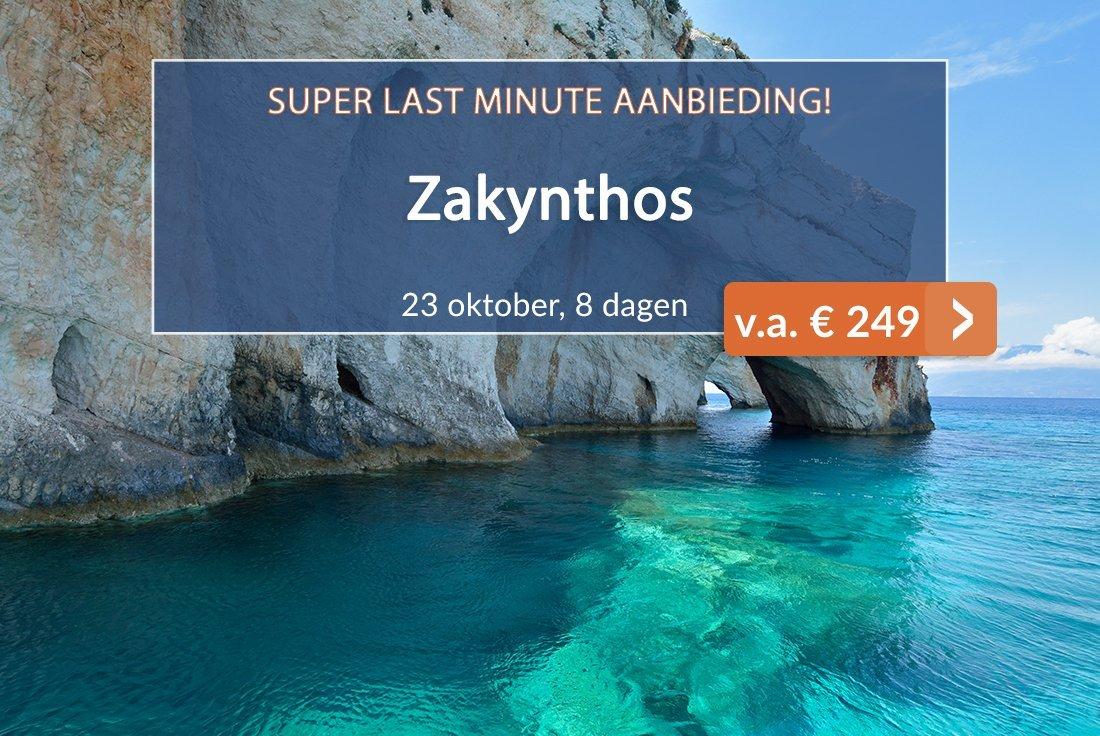 Zakynthos Super Last-minute aanbieding