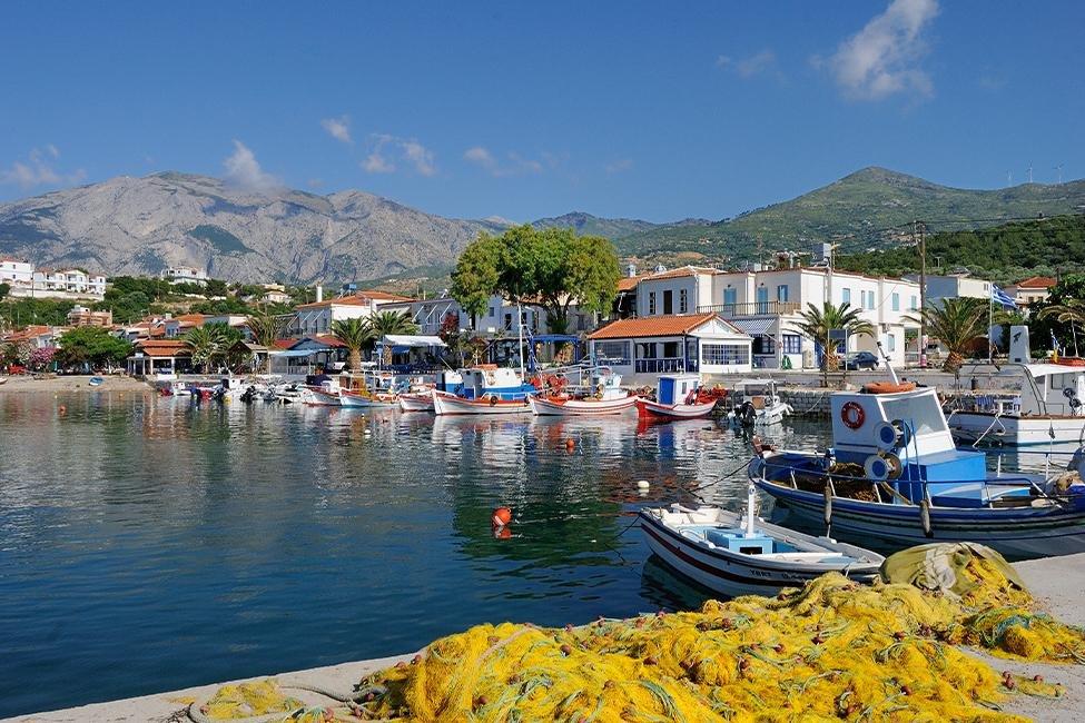 vakantie griekenland, bestemming samos